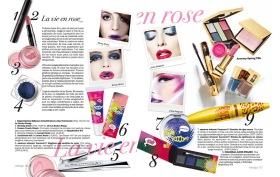Texto en el shopping de tendencias de belleza para verano en la revista Vivir Aquí de San Juan [Alicante, 2011].