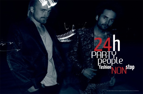 Editorial moda '24h party people' BCULTURE número 0 [junio-julio 2012]