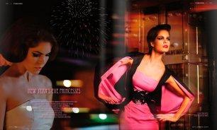 Estilismo de moda en la editorial 'Night princesses' publicada en la revista Orlando Style Magazine [enero 2011].