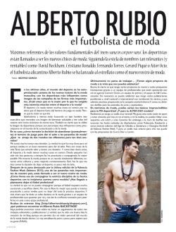 Entrevista ALberto Rubio BCULTURE número 0 [junio-julio 2012]