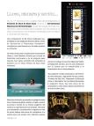 Reportaje sobre el Festival de Cine de San Juan en la revista Vivir Aquí de San Juan [Alicante, 2011].