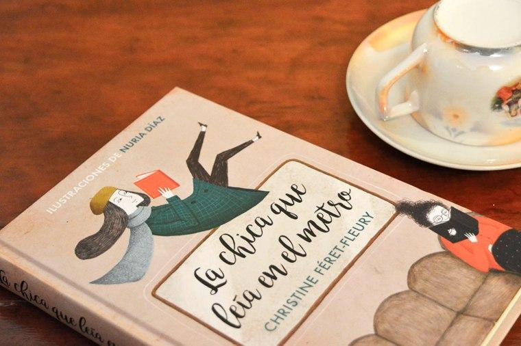 La chica que leía en el metro de Christine Féret-Fleury: leer, vivir, amar