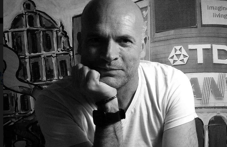 """Javier Crespo: """"Moverme en diferentes disciplinas me potencia y me da seguridad creativa"""""""